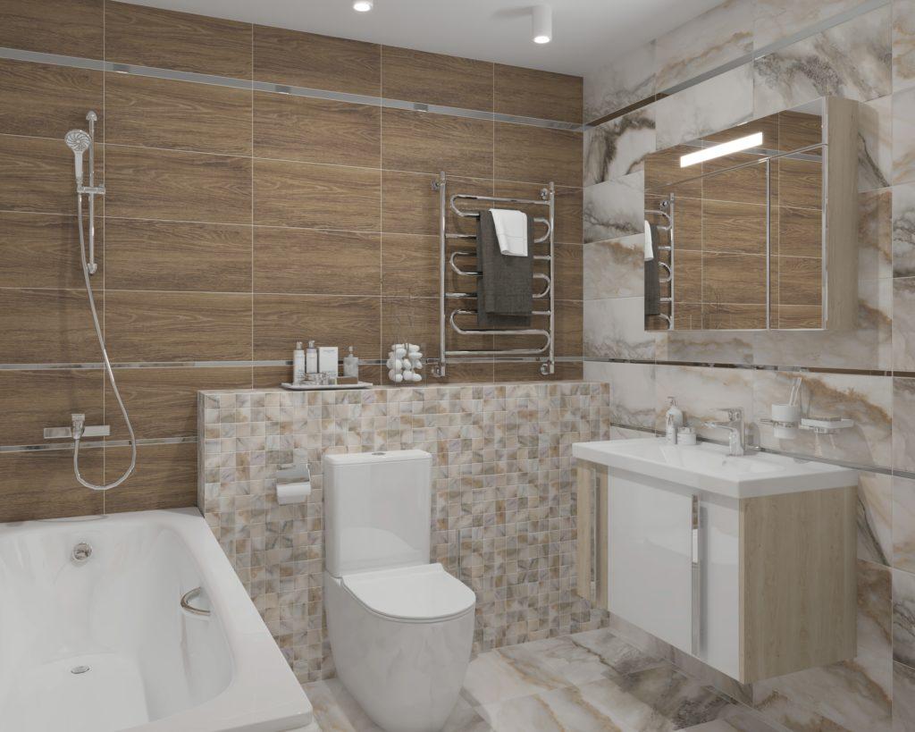 Дизайн плитки для туалета